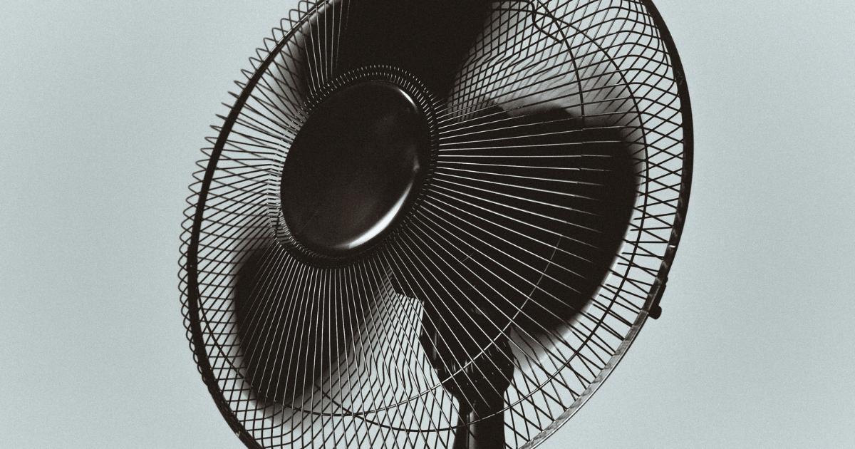 レトロでかわいい扇風機